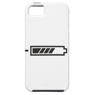 HALF CHARGE BATTERY iPhone SE/5/5s CASE