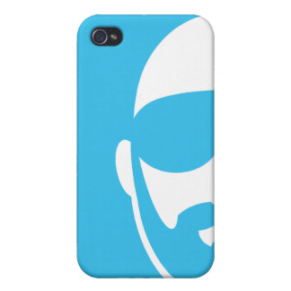 Half-Chill Face iPhone 4/4S Cases