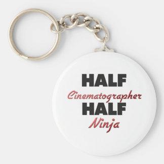 Half Cinematographer Half Ninja Key Chains