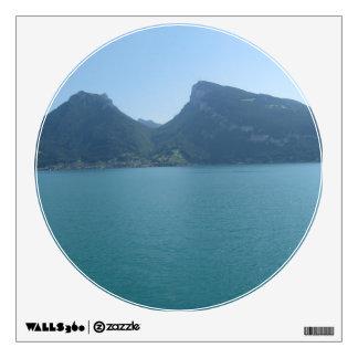 Half circle between 2 hills in Switzerland Room Sticker
