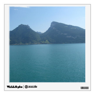 Half circle between 2 hills in Switzerland Wall Stickers