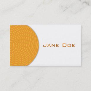Half circle business cards templates zazzle half circle dot business card colourmoves