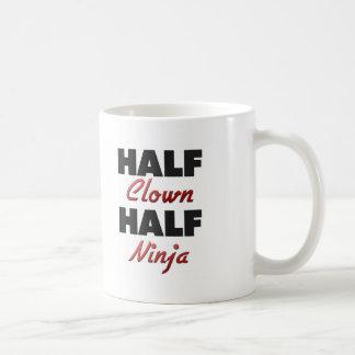 Half Clown Half Ninja Mugs