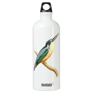 Half-collared Kingsfisher Water Bottle