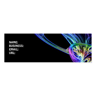 Half Color Business Card Templates