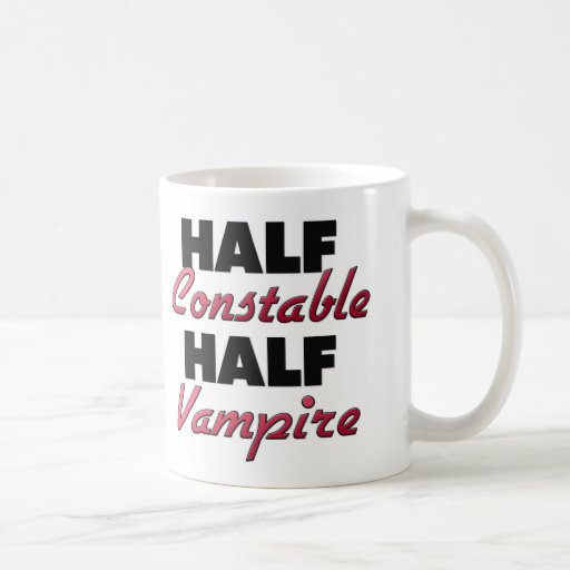 Half Constable Half Vampire Mug