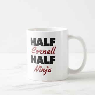 Half Cornell Half Ninja Coffee Mug