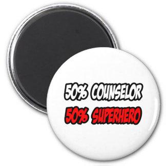 Half Counselor...Half Superhero Magnet