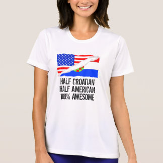 Half Croatian Half American Awesome T-Shirt