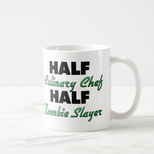 Half Culinary Chef Half Zombie Slayer Coffee Mug