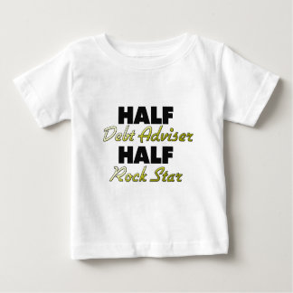 Half Debt Adviser Half Rock Star Tshirt
