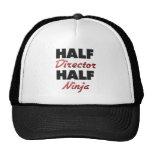 Half Director Half Ninja Trucker Hat