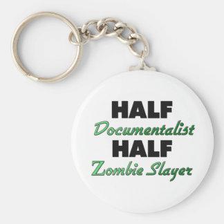 Half Documentalist Half Zombie Slayer Key Chains