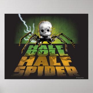 Half Doll Half Spider Poster