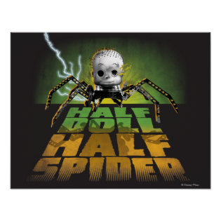 Half Doll Half Spider Posters