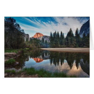 Half Dome and Merced Card