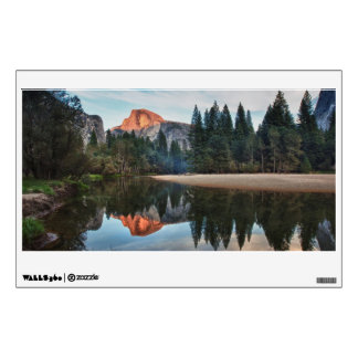 Half Dome and Merced Wall Sticker
