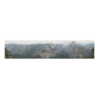 Half Dome and Yosemite Valley from Glacier Point Print