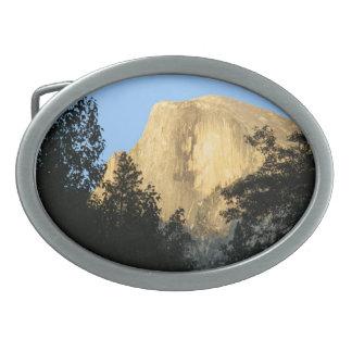 Half Dome at Sunset, Yosemite National Park Belt Buckles