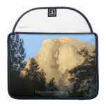 Half Dome at Sunset, Yosemite National Park Sleeve For MacBook Pro