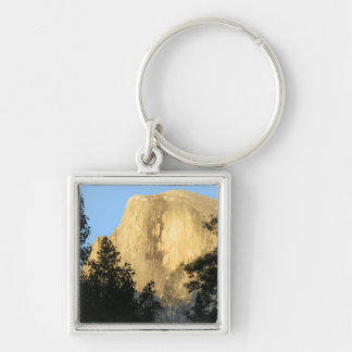 Half Dome at Sunset, Yosemite National Park Silver-Colored Square Keychain