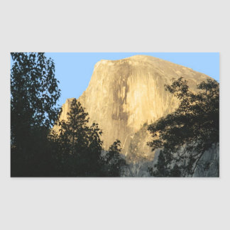 Half Dome at Sunset, Yosemite National Park Stickers