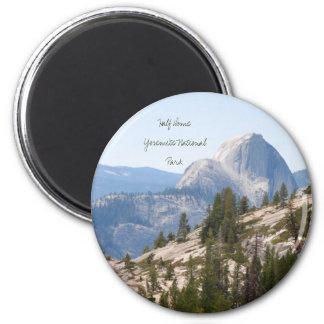Half Dome at Yosemite National Park, California Magnet