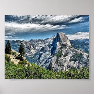 Half Dome at Yosemite National Park Print