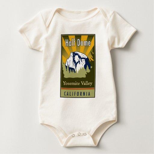 Half Dome Baby Bodysuit