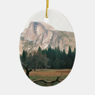 Half Dome Ceramic Ornament