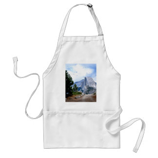 Half Dome from Glacier Point Adult Apron