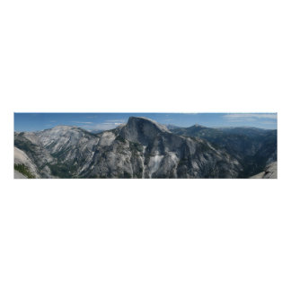 Half Dome from North Dome Posters