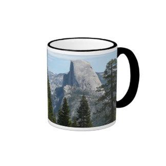 Half Dome from Panorama Trail I in Yosemite Ringer Coffee Mug