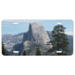 Half Dome from Panorama Trail I License Plate