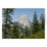 Half Dome from Panorama Trail II Card