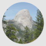 Half Dome from Panorama Trail II Classic Round Sticker
