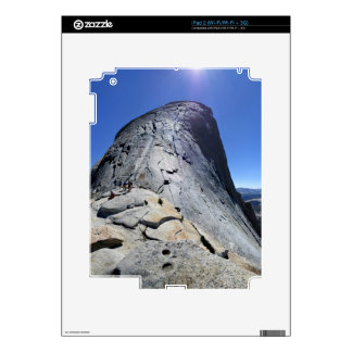 Half Dome from the Base of the Cables - Yosemite iPad 2 Skins