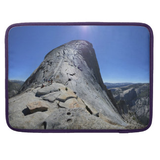 Half Dome from the Base of the Cables - Yosemite Sleeve For MacBook Pro