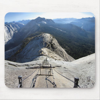 Half Dome From the Cables - Yosemite Mouse Pad