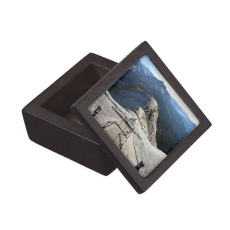 Half Dome From the Cables - Yosemite Premium Keepsake Boxes