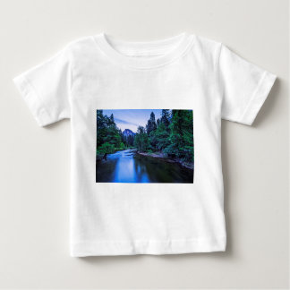 Half Dome from The Sentinel Bridge at Twilight Baby T-Shirt