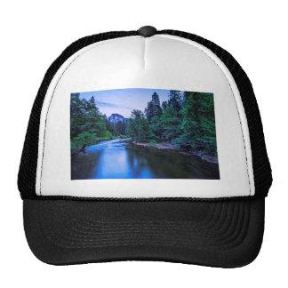 Half Dome from The Sentinel Bridge at Twilight Trucker Hat