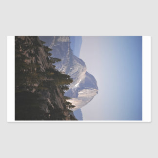 Half Dome from Tioga Pass Rectangular Sticker