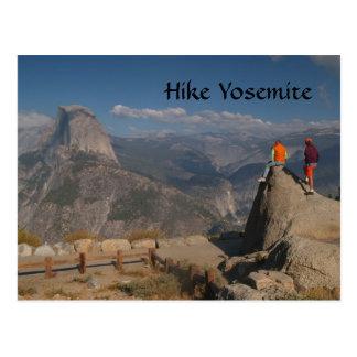 Half Dome, Glacier Point, Yosemite Postcard