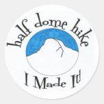 "Half Dome Hike ""I Made It!"" Classic Round Sticker"
