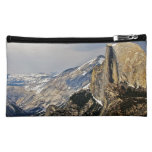 HALF DOME IMAGE AS SEEN FROM GLACIER POINT MAKEUP BAG