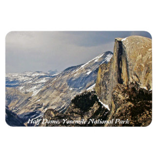 HALF DOME IMAGE AS SEEN FROM GLACIER POINT MAGNET
