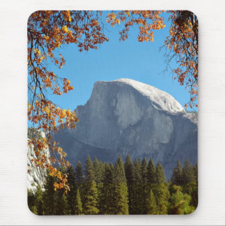 Half Dome in Autumn - Yosemite National Park Mouse Pad