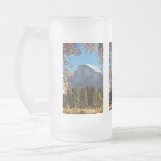 Half Dome in Autumn - Yosemite National Park Mugs