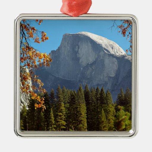 Half Dome in Autumn - Yosemite National Park Christmas Tree Ornament